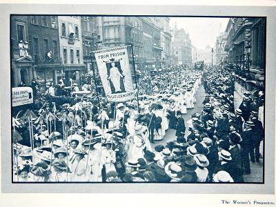 The Women's Franchise Demonstration--Photographic Print