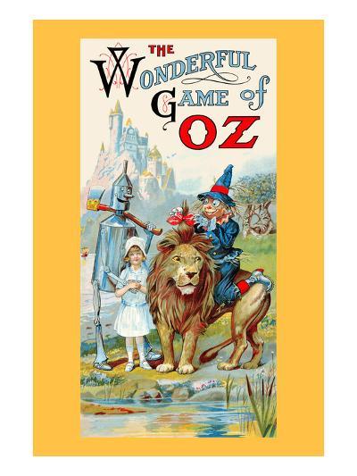 The Wonderful Game of Oz-John R^ Neill-Art Print