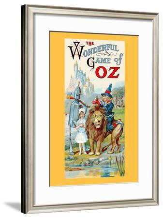 The Wonderful Game of Oz-John R. Neill-Framed Art Print