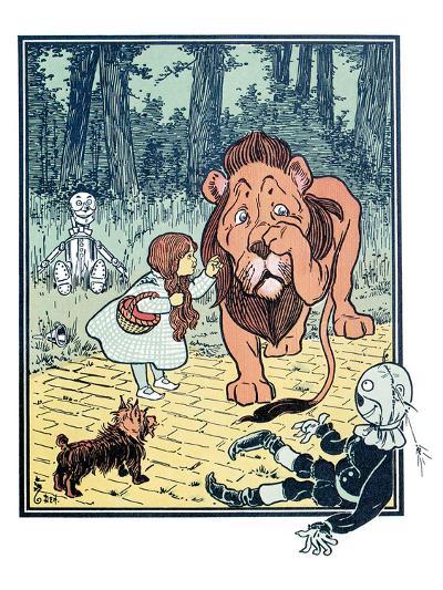 The Wonderful Wizard of Oz-William W. Denslow-Art Print