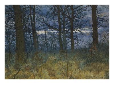The Wood at Dusk, 1884-William Fraser Garden-Giclee Print