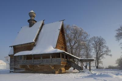 The Wooden Church of St Nicholas (1766), from Glotovo Village, Suzdal, Golden Ring, Russia--Photographic Print