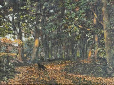 The Woodland Paths are Dry, 2003-Margaret Hartnett-Giclee Print