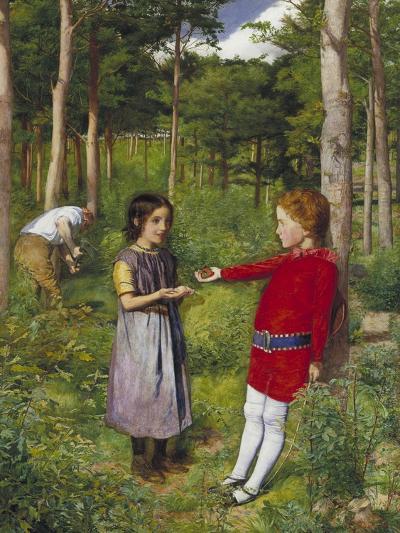 The Woodman's Daughter, 1851-John Everett Millais-Giclee Print