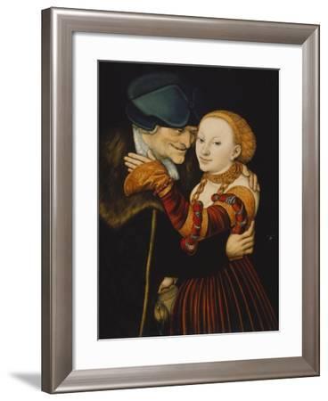 The Wooer-Lucas Cranach the Elder-Framed Giclee Print