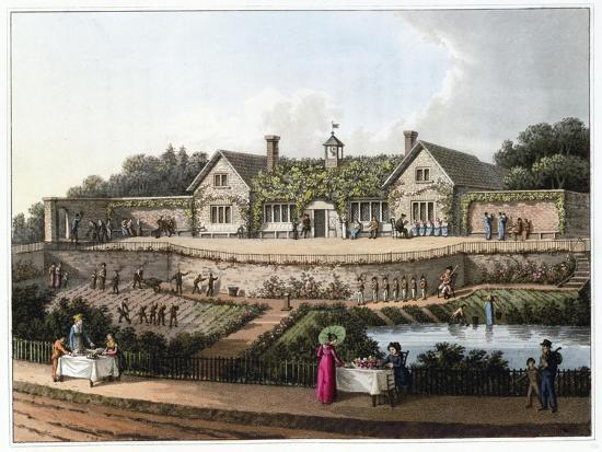 'The Work House', 1816-Humphry Repton-Giclee Print