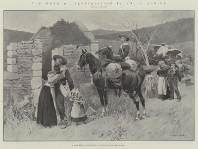 The Work of Repatriation in South Africa-Charles Auguste Loye-Giclee Print