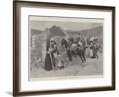 The Work of Repatriation in South Africa-Charles Auguste Loye-Framed Giclee Print