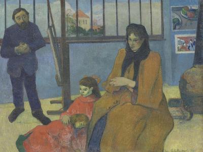 The Workshop Schuffenecker or Family Schuffenecker-Paul Gauguin-Giclee Print