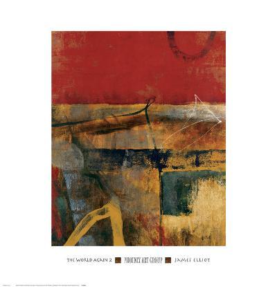 The World Again II-James Elliot-Art Print