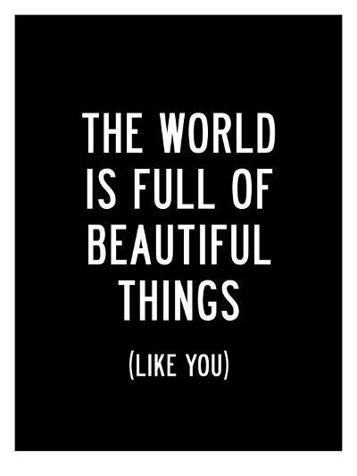 The World Is Full Of Beautiful Things-Brett Wilson-Art Print