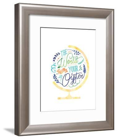 The World Is Your Oyster-Elena David-Framed Art Print