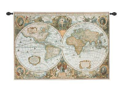 The World--Wall Tapestry
