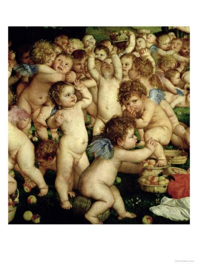 The Worship of Venus, 1519-Titian (Tiziano Vecelli)-Giclee Print