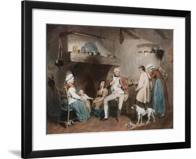 The Wounded Soldier, 1913-JR Smith-Framed Giclee Print