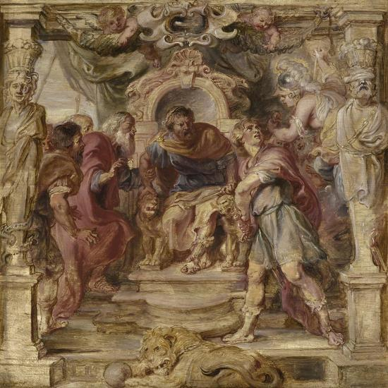 The Wrath of Achilles, 1630-1635-Peter Paul Rubens-Giclee Print