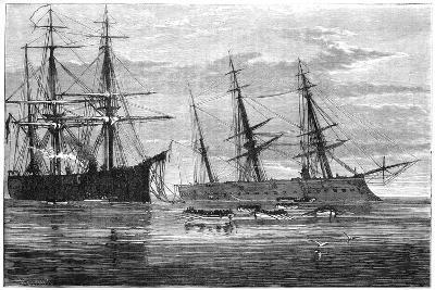 The Wreck of HMS Vanguard, 19th Century--Giclee Print