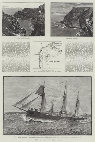 The Wreck of HMS Wasp--Giclee Print