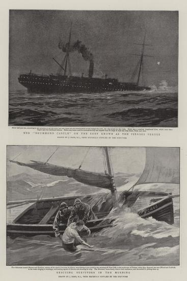 The Wreck of the Drummond Castle-Joseph Nash-Giclee Print