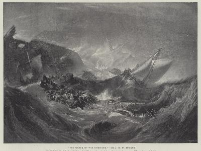 The Wreck of the Minotaur-J^ M^ W^ Turner-Giclee Print