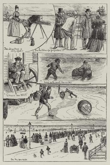 The Wreck of the Vandalia--Giclee Print