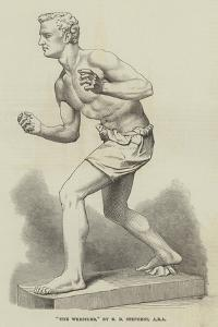 The Wrestler, by E B Stephens, Ara