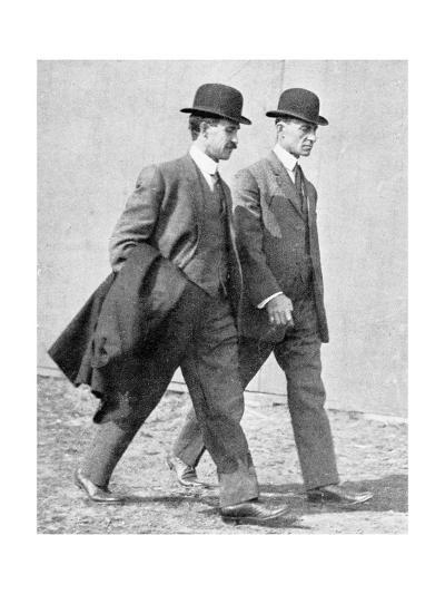 The Wright Brothers, US Aviation Pioneers-Science, Industry and Business Library-Giclee Print