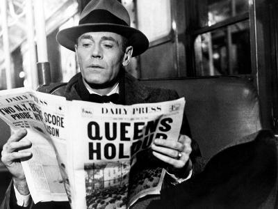 The Wrong Man, Henry Fonda, Directed by Alfred Hitchcock, 1956--Photo