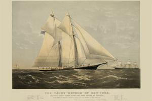 "The Yacht ""Meteor"" of New York"