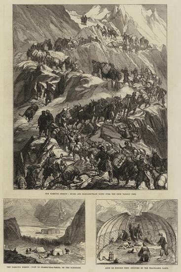 The Yarkund Mission--Giclee Print