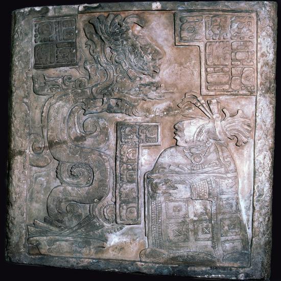 The Yaxchilan Lintels, 8th century-Unknown-Giclee Print