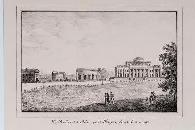 The Yelagin Palace at Saint Petersburg (Series Views of Saint Petersbur), 1820S-Alexander Pluchart-Giclee Print