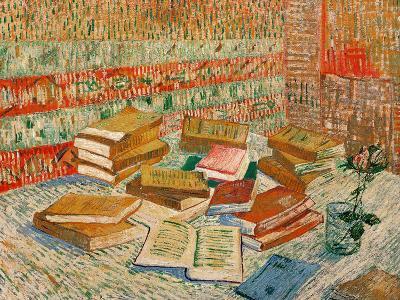 The Yellow Books, c.1887-Vincent van Gogh-Giclee Print