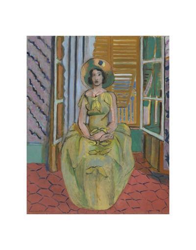 The Yellow Dress, 1929-31-Henri Matisse-Art Print