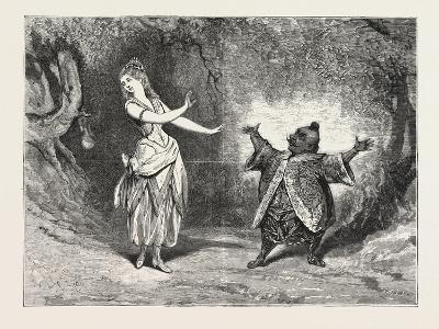 The Yellow Dwarf at the Alexandra Palace--Giclee Print