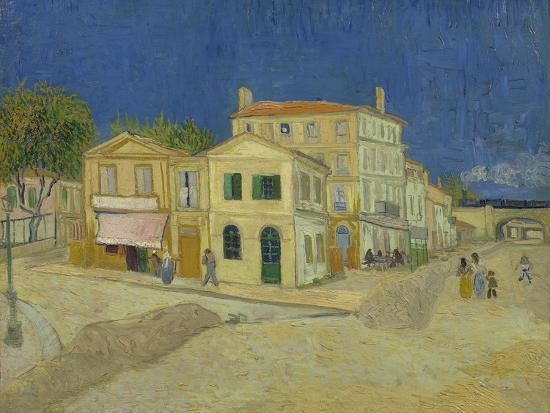 The Yellow House, 1888-Vincent van Gogh-Giclee Print
