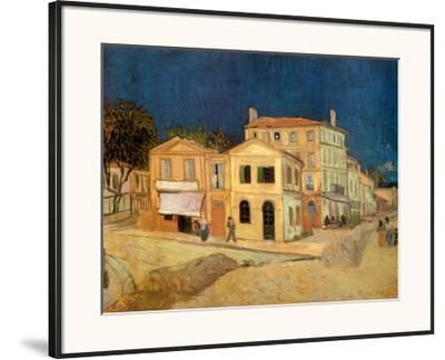 The Yellow House at Arles, c.1889-Vincent van Gogh-Framed Art Print