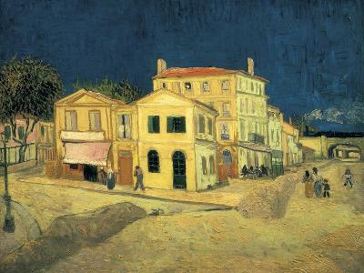 The Yellow House at Arles-Vincent van Gogh-Art Print