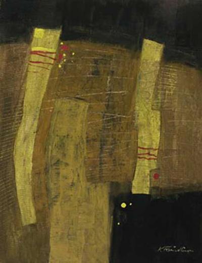 The Yellow Pair-Kurt Freundlinger-Art Print