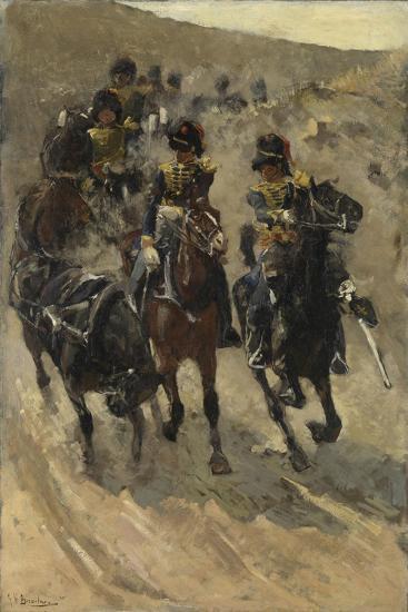The Yellow Riders, 1885-86-Georg-Hendrik Breitner-Giclee Print