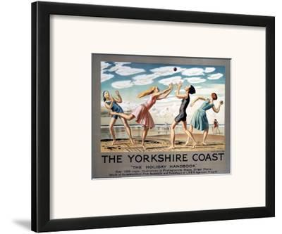 The Yorkshire Coast, LNER, c.1923-1947--Framed Art Print