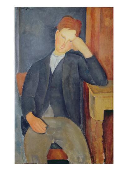 The Young Apprentice, c.1918-19-Amedeo Modigliani-Giclee Print