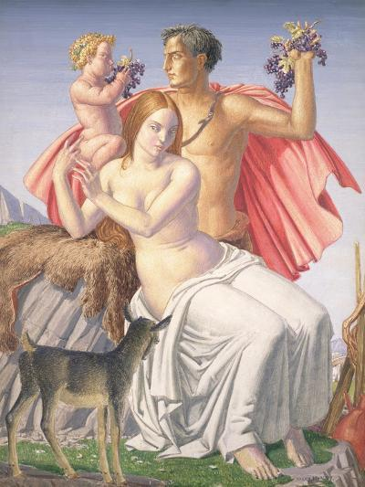 The Young Bacchus, 1930-Harry Morley-Giclee Print