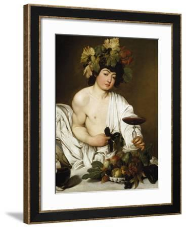 The Young Bacchus by Caravaggio--Framed Photographic Print