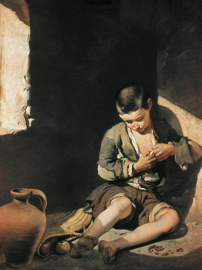 The Young Beggar-Bartolome Esteban Murillo-Art Print
