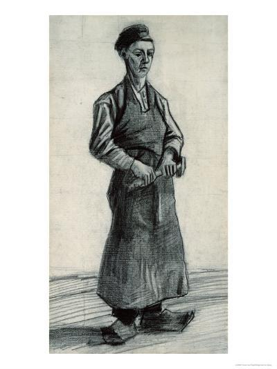 The Young Blacksmith, 1882-Vincent van Gogh-Giclee Print