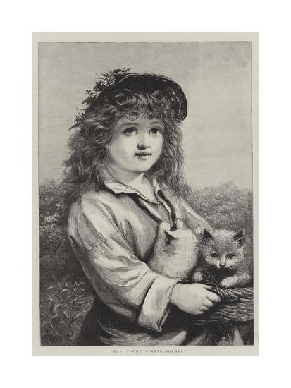 The Young Foster-Mother--Giclee Print