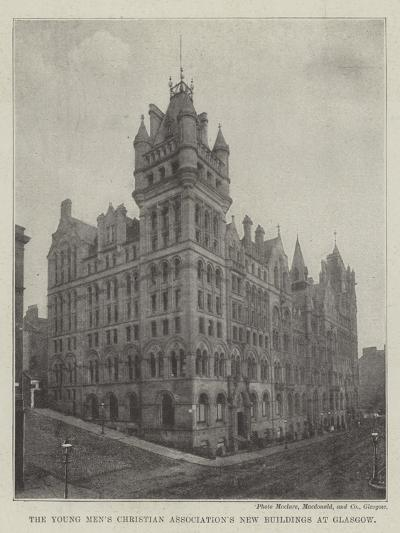 The Young Men's Christian Association's New Buildings at Glasgow--Giclee Print