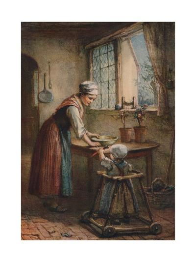 The Young Mother, c1887-Hugh Carter-Giclee Print