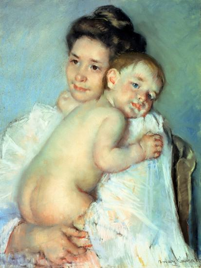 The Young Mother-Mary Cassatt-Giclee Print